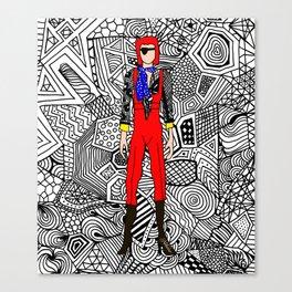 Heroes Fashion 4 Canvas Print