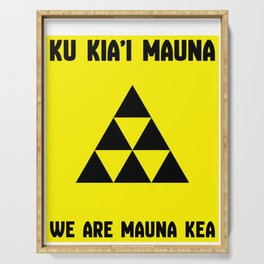 We Are Mauna Kea Serving Tray