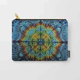 Exhale: A vibrant mix of colors of the rainbow Carry-All Pouch