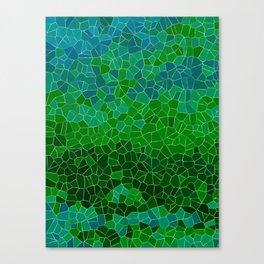 Mosaic Forest Canvas Print
