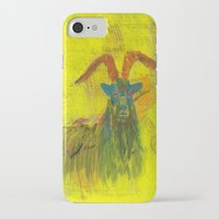 goat iPhone & iPod Cases featuring Goat by Catherine Johnson