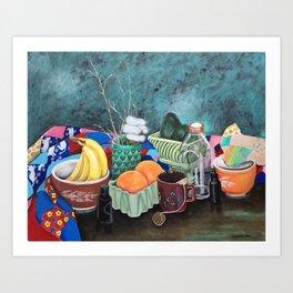 Nanny's Quilt Art Print