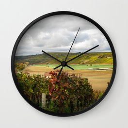 Loire Valley Wall Clock