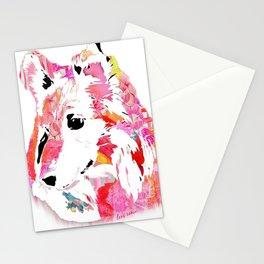 luci the sheltie Stationery Cards