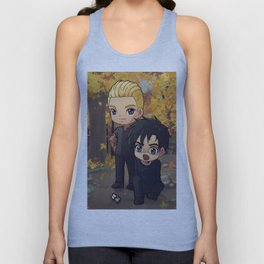 Jace and Alec in Central Park  Unisex Tank Top