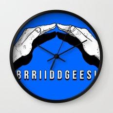 Bridges! Wall Clock