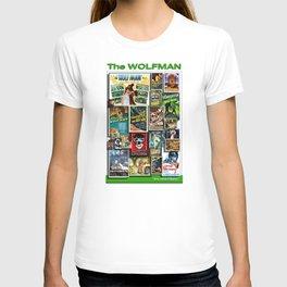 Vintage Wolf by iamjohnlogan T-shirt