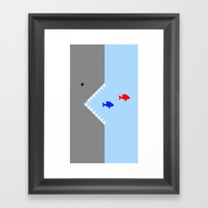 JAWS! Framed Art Print