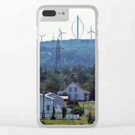 Turbine Hill Clear iPhone Case