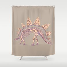Pizzasaurus Awesome Shower Curtain