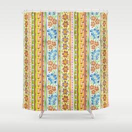 Parterre Botanique Vertical Shower Curtain