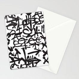 Graffiti Pattern Stationery Cards