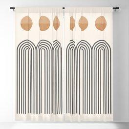 Minimal Geometric 105 Blackout Curtain