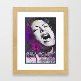 LADY DAY Framed Art Print