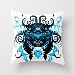 Lovecraftian Cosmic Horror Throw Pillow