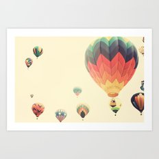 Misty Magic Flight Art Print
