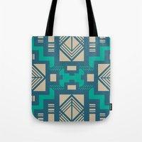 gatsby Tote Bags featuring Gatsby by Kozza
