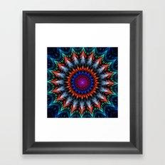 Full Bloom, multi-color design Framed Art Print