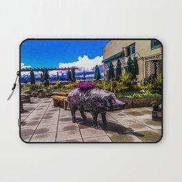 Chalkboard Pig Laptop Sleeve