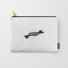 Maeby Funke said Marry Me! Carry-All Pouch