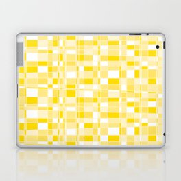 Mod Gingham - Yellow Laptop & iPad Skin