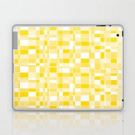 Mod Gingham - Yellow Laptop & iPad Skin