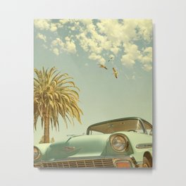 Having Fun, Wish You Were Here Metal Print