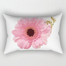 Pink Gerbera Rectangular Pillow