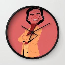 Carl Knows Best Wall Clock