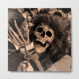 The Screaming Metal Print