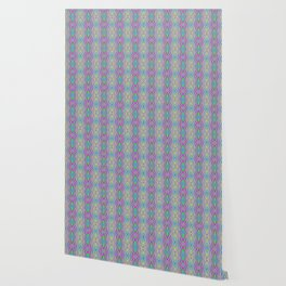 Woodcut Boho Pattern Wallpaper