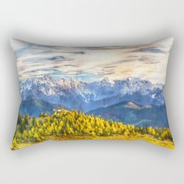 Alps Austria Alpine Rectangular Pillow