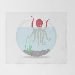 Release the Kraken! Throw Blanket