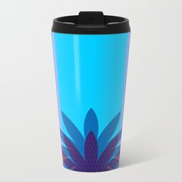 Floretta Loves Blue Travel Mug