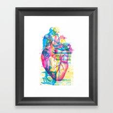 Andreae Vesalii Montage Framed Art Print