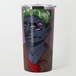 Demon of Stress Travel Mug