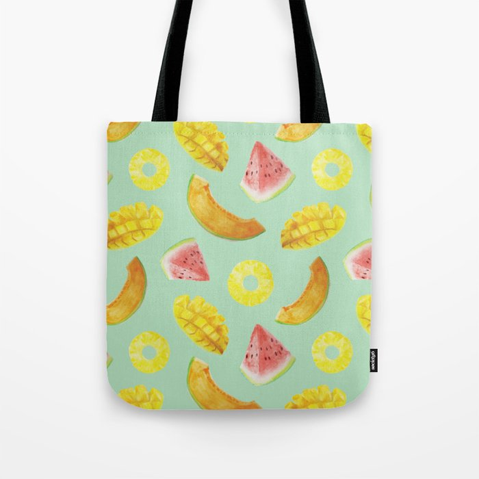 Nature's Candy Pattern Tote Bag