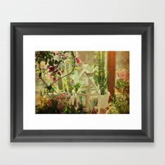 Lil' Garden Framed Art Print