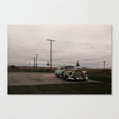 Ran when parked Canvas Print