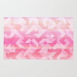 Geometric Sunset Rug