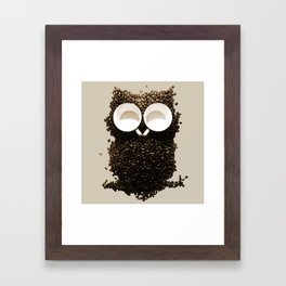 Hoot! Night Owl! Framed Art Print