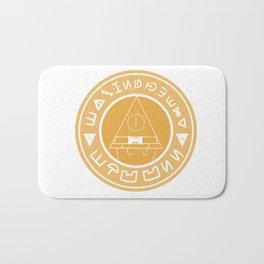 Cipherbucks Coffee Golden Bath Mat