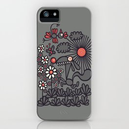 Unrelenting Happygoluckiness iPhone Case