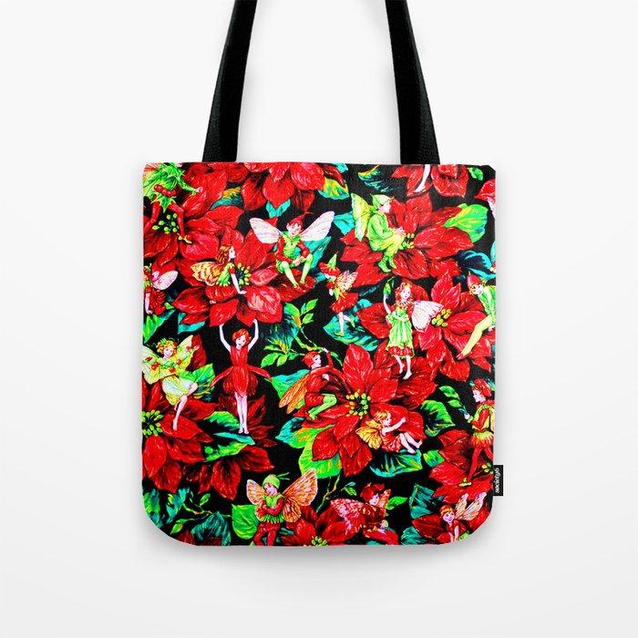 Fairy Flower | Christmas Spirit Tote Bag