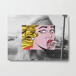 Lichtenstein & Rivas Metal Print
