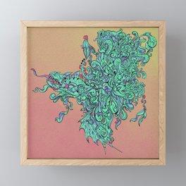 Alien City Framed Mini Art Print