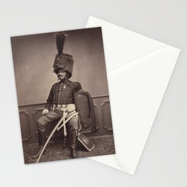 Vintage Photographic Print - Moret of the 2nd Regiment (1858) Stationery Cards