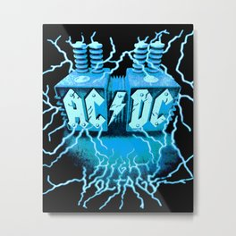 AC/DC - High Voltage Metal Print