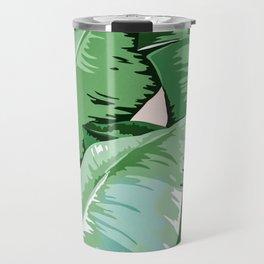 Banana leaf grandeur II Travel Mug