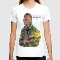 skyfall T-shirts featuring Skyfall 007 by AdrockHoward